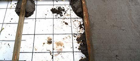 betonnen vloer isoleren