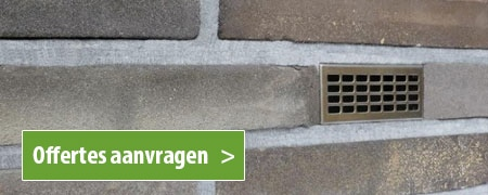 spouwmuur ventilatie